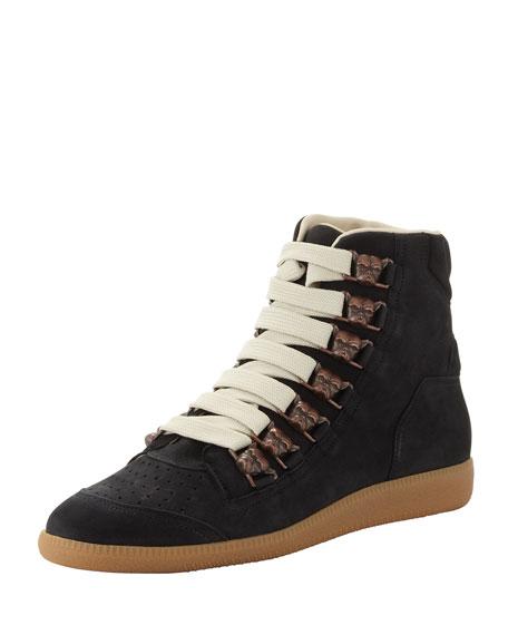 hi-top lace-up sneakers - Black Maison Martin Margiela xDkgfdMeth