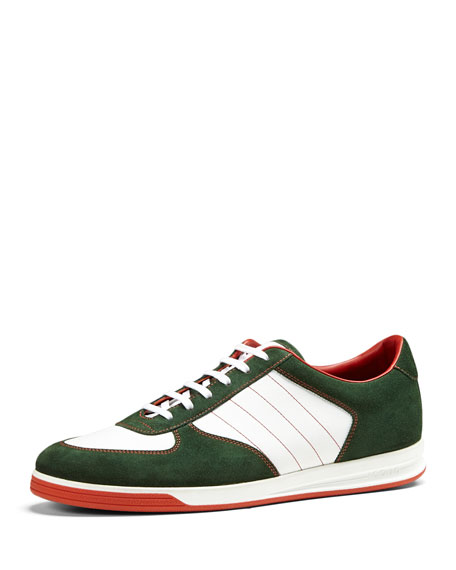 e96500498b3 Gucci 1984 Suede Low-Top Sneaker