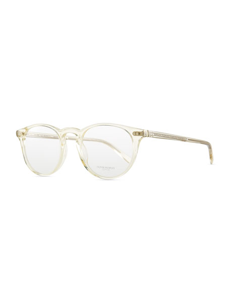 ea5b31e33c Oliver Peoples Riley Clear Men s Fashion Glasses