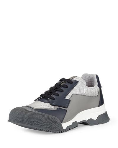 Nylon Runway Trainer Sneaker