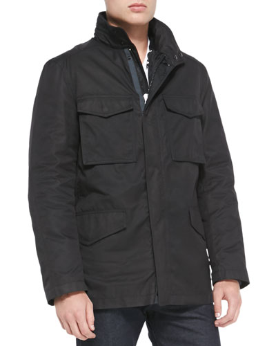 Division 3-in-1 Field Jacket, Black