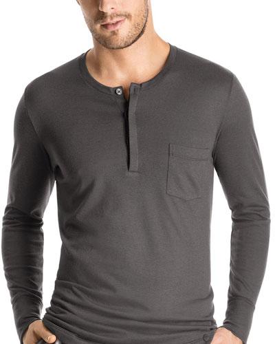 Pocket Henley Shirt