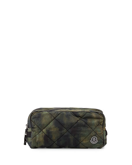 Moncler Quilted Nylon Toiletry Bag f352bbd406224