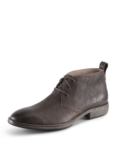 Standard Leather Lace-Up Boot