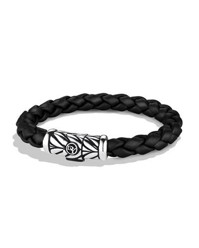 Chevron Bracelet in Black