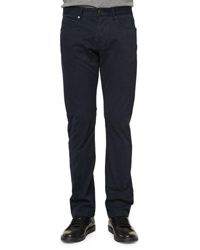 Five-Pocket Twill Pants