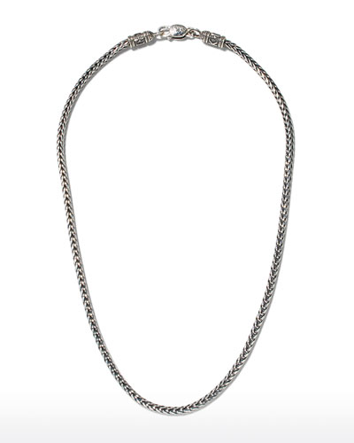 Sterling Silver Chain Necklace, 20""