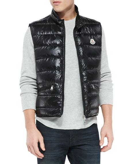 moncler gui vest black