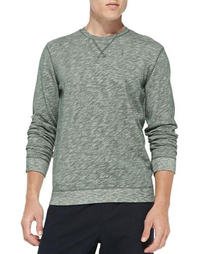 Heathered Vintage Sweatshirt, Green