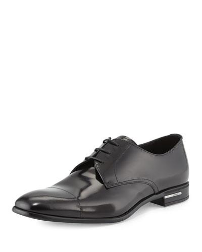 Basic Cap-Toe Derby Shoe