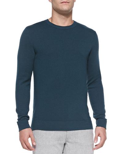 Cashmere Dermont Sweater, Blue