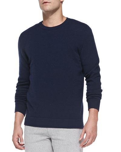 Cashmere Dermont Sweater, Ink