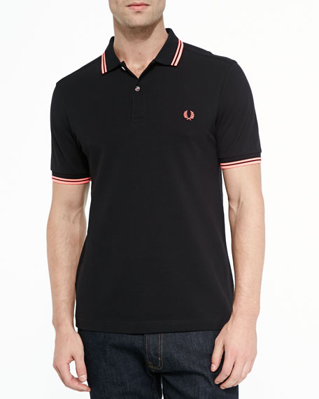 938b0a624a2 Fred Perry Twin-Tipped Polo Shirt