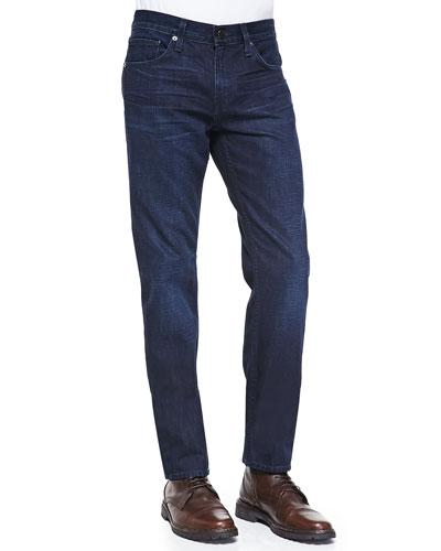 Kane Straight-Leg Denim Jeans, Krantz Dark Wash