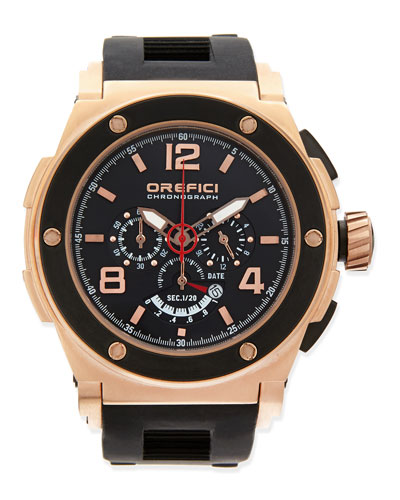 Regatta Yachting Edition Watch, Rose Gold/Black