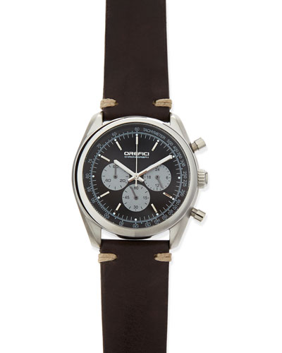 Vintage 42mm Chronograph Watch