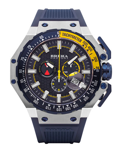Gran Turismo Chronograph Watch, Navy