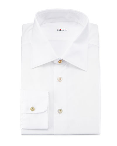 Basic Poplin Dress Shirt, White