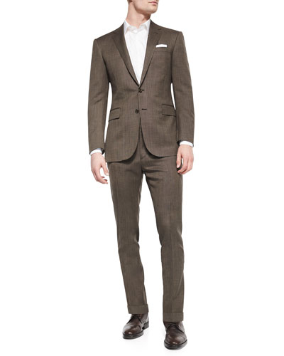 Anthony Pindot Two-Piece Suit, Brown