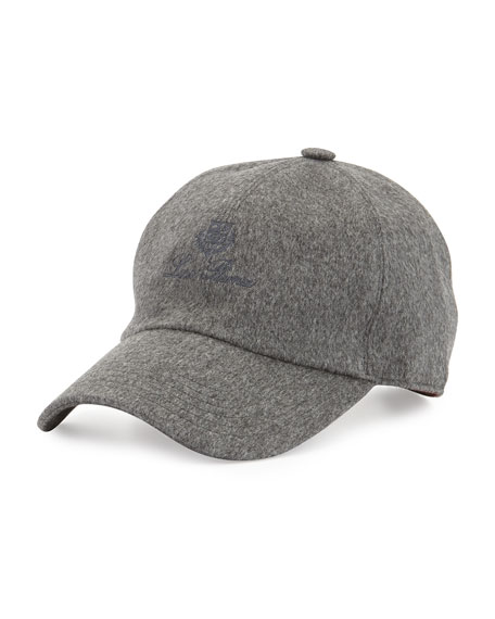5d191bf1d07 Loro Piana Storm System Cashmere Baseball Hat