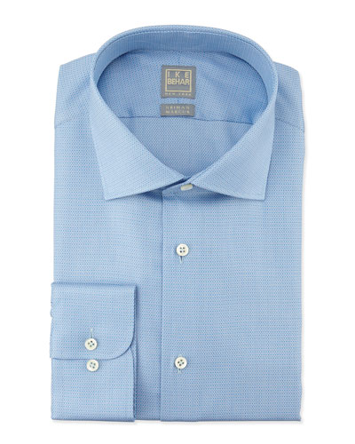 Textured Tonal Dress Shirt, Lake