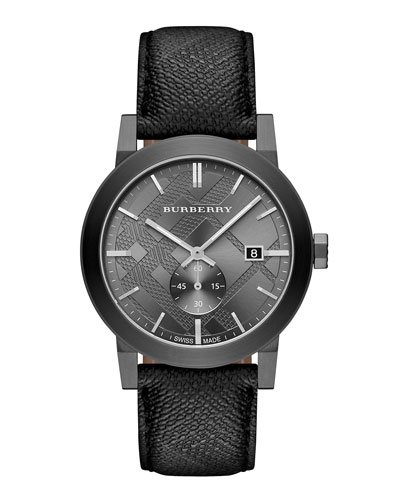 Gunmetal Beat Check Watch