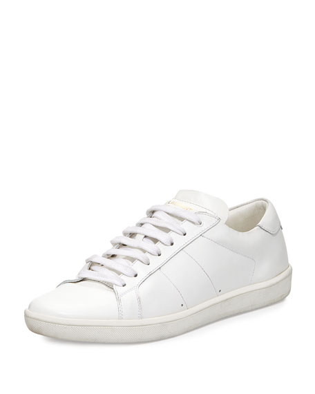 Saint LaurentLeather Low-Top Sneakers hPwEEI2