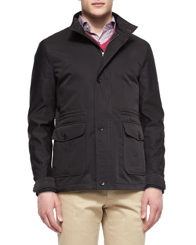 Palmetto Lightweight Jacket, Black