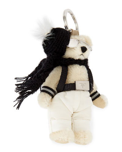 Franz Bear with Backpack Keychain
