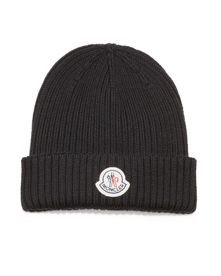 1000614b5 Moncler Cashmere Ribbed-Knit Beanie Hat