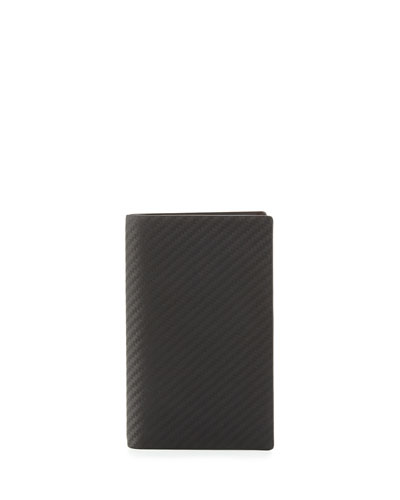 Chassis Vertical 8CC Wallet, Black
