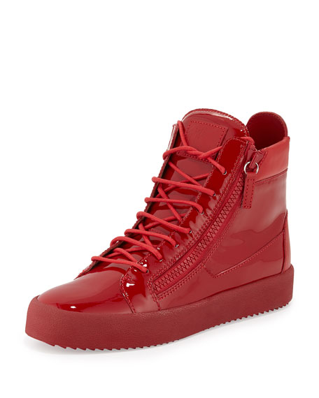 Giuseppe Zanotti High Top Leather Sneakers nNkmZ