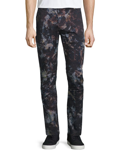 Hydrox Tie-Dye Printed Stretch Pants, Spero Sprint