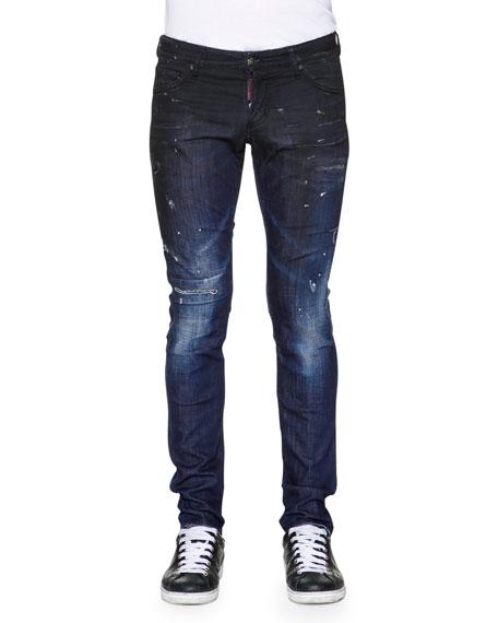 Cheap Sale Buy Cheap Sale Huge Surprise slim-fit denim jeans - Blue Dsquared2 Discount 2018 New l87WZSitf