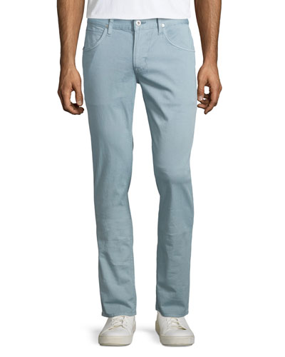 Blake Reef Rock Slim-Straight Jeans, Light Blue