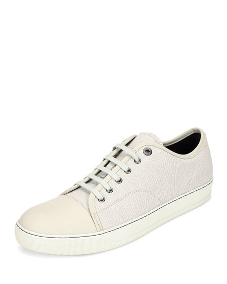 low top sneakers - White Lanvin 8cEetA5m6M