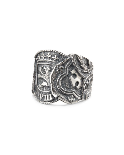 Men's Shipwreck Coin Ring, 23.5mm