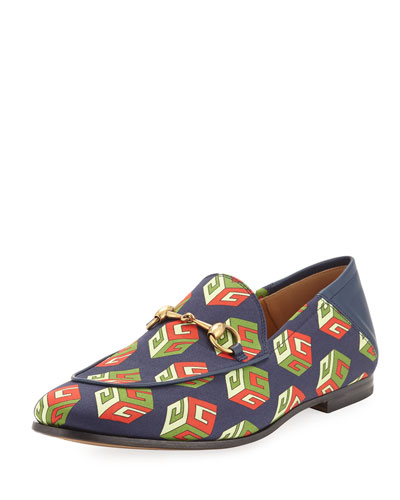 Brixton GG Wallpaper Print Loafer, Multicolor