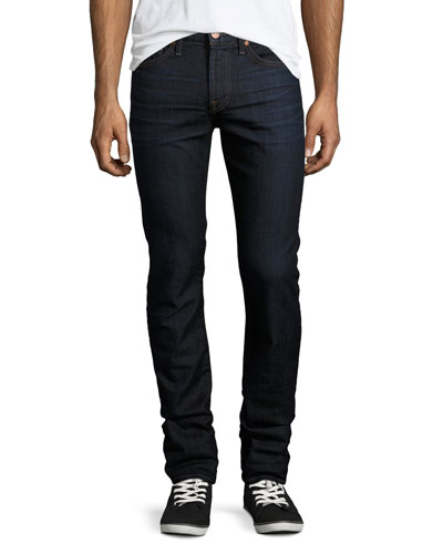Paxtyn Clean Pocket AirWeft Denim Skinny Jeans, Commotion (Dark Blue)