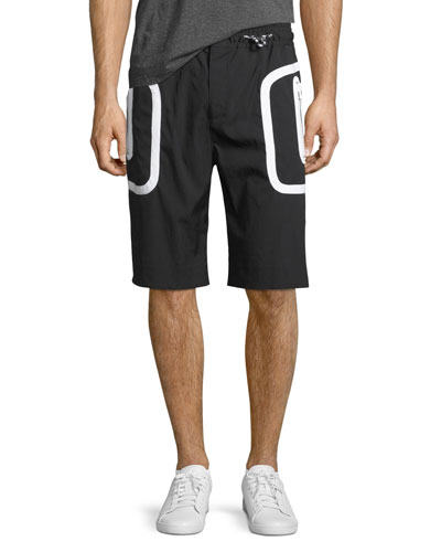 Drawstring Athletic Shorts