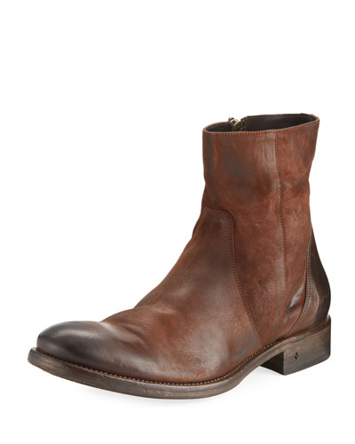 Stanton Leather Ankle Zip Boot