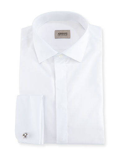 Cotton Tuxedo Dress Shirt