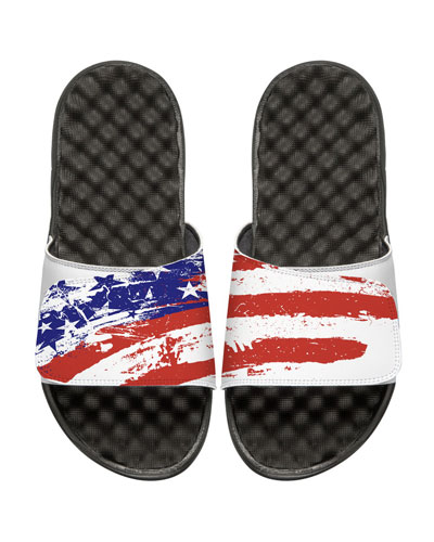 Old Glory American Flag Slide Sandal