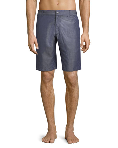 Baratin Solid Swim Trunks