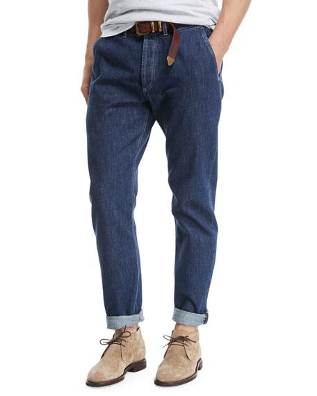 Straight leg jeans Brunello Cucinelli OtNAz
