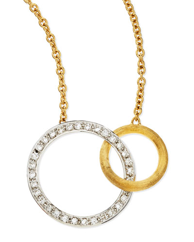 Jaipur Diamond & 18k Gold Link Necklace