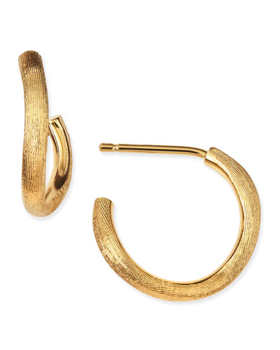 Jaipur 18k Gold Hoop Earrings