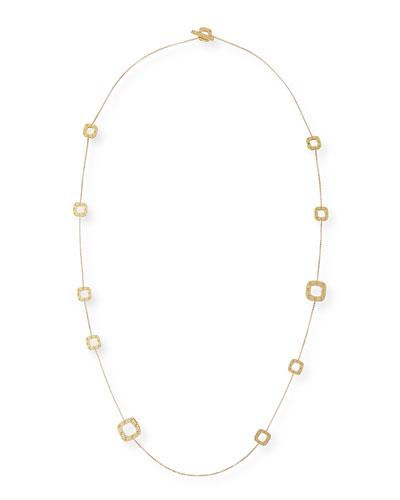 Pois Moi 18k Gold Station Necklace, 31