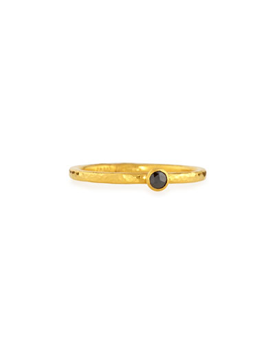 Gurhan Skittle Black Diamond Ring