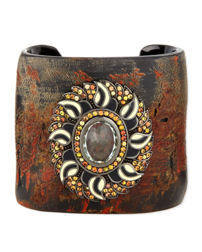 Garden of Spring and Summer Horn Cuff